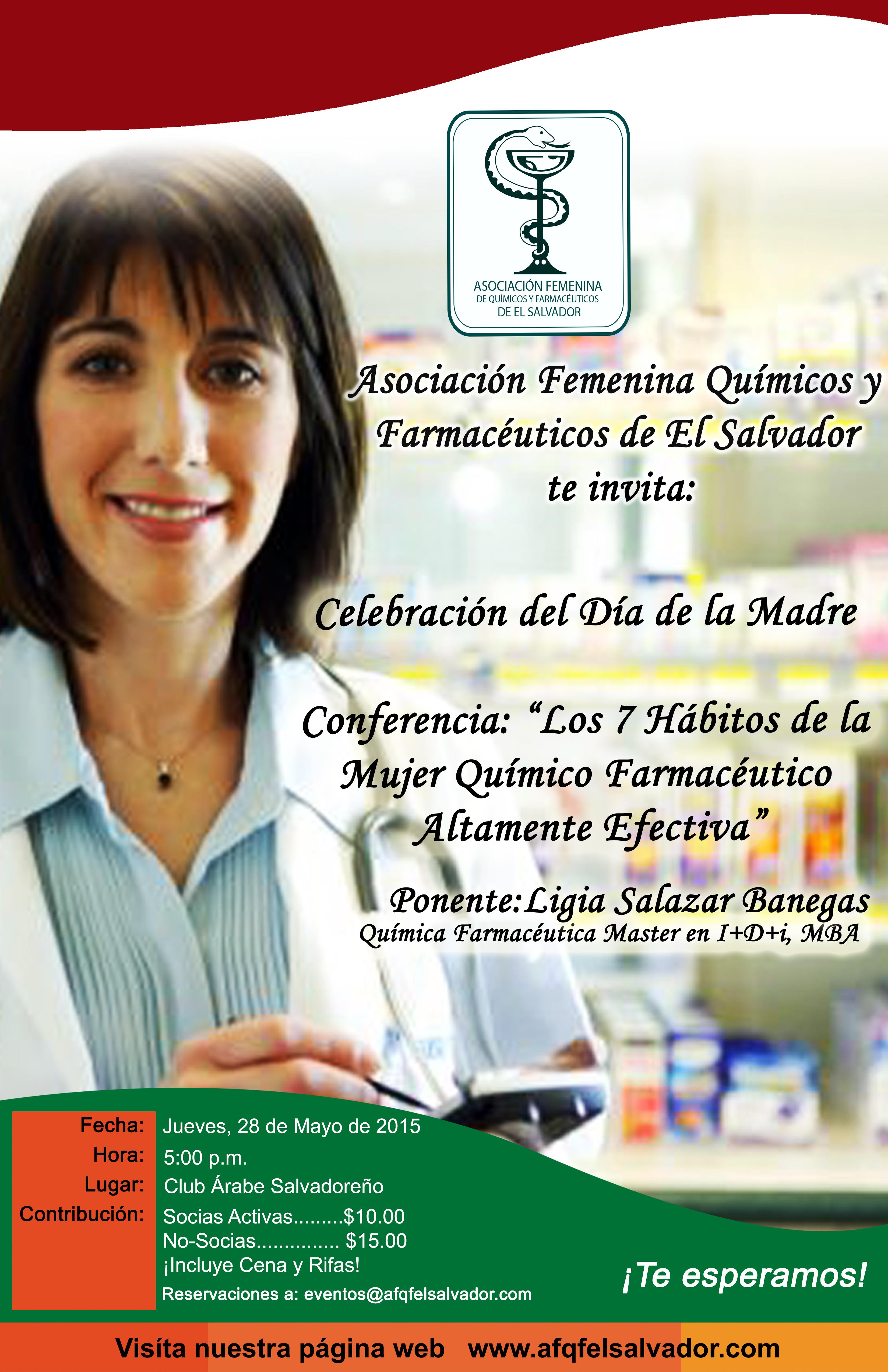 Próximo evento : Celebración Dia de la Madre y Conferencia