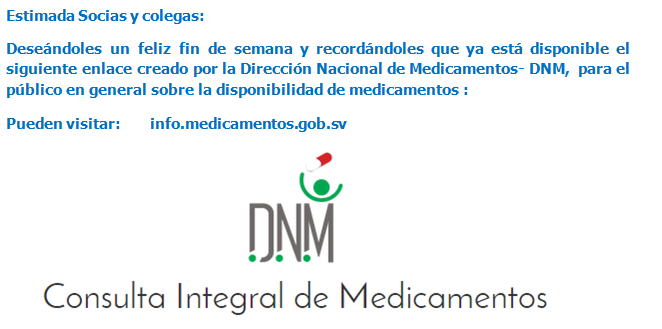 Enlace DNM para consulta de medicamentos