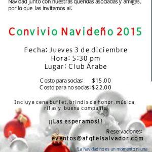 Convivio Navideno 2015