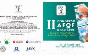 II Congreso AFQF- Próximo Jueves 22 Noviembre, 2018