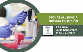 FECHAS ALUSIVAS A NUESTRA PROFESIÓN