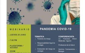 Próxima conferencia Web- Jueves 25 Junio, 7 pm