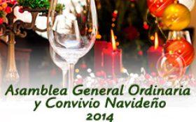 Asamblea General Ordinaria y Convivio Navideño