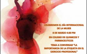 Felicitaciones en el Día Internacional de la Mujer