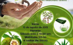Invitación a Diplomado- Plantas Medicinales