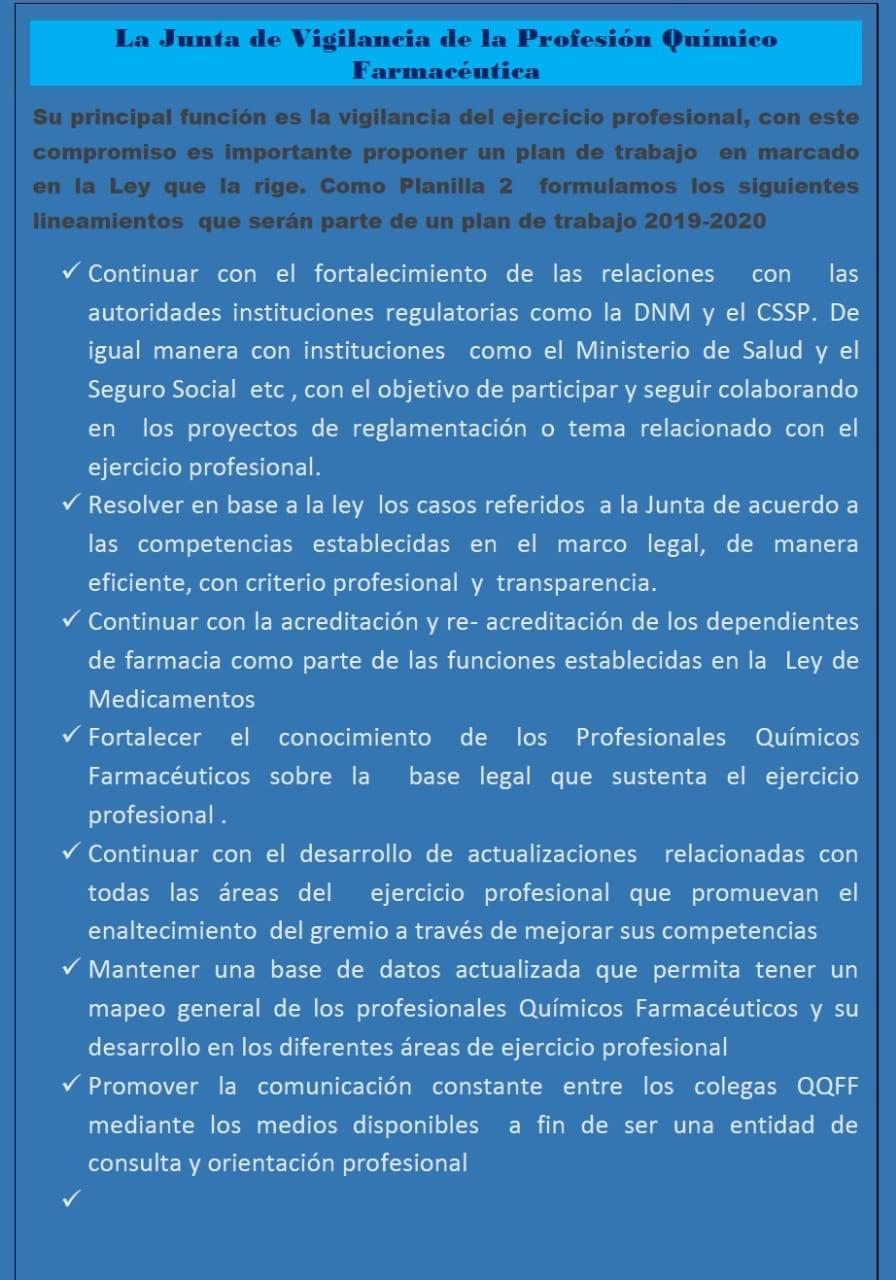 JVPQF- Planilla no. 2- PROPUESTA DE PLAN DE TRABAJO